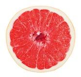 Половина грейпфрута изолированного на белой предпосылке Стоковое фото RF