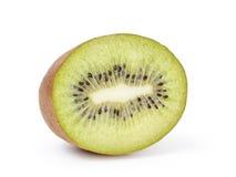 Половина зрелого изолированного плодоовощ кивиа Стоковые Фото