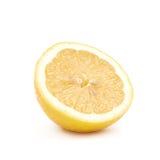 Половина изолированного плодоовощ лимона Стоковая Фотография RF