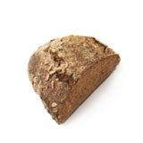 Половина изолированного хлебца хлеба Стоковая Фотография RF