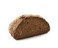 Половина изолированного хлебца хлеба Стоковое Изображение
