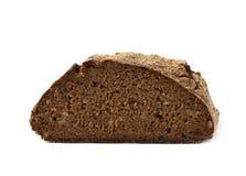Половина изолированного хлебца хлеба Стоковые Фото