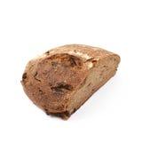 Половина изолированного хлебца хлеба Стоковое фото RF