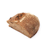 Половина изолированного хлебца хлеба Стоковые Изображения
