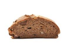 Половина изолированного хлебца хлеба Стоковое Фото