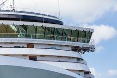 Половина моста кораблей Стоковые Фотографии RF