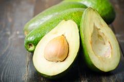 Половина плодоовощ авокадоа Стоковое Фото