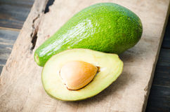 Половина плодоовощ авокадоа Стоковое фото RF