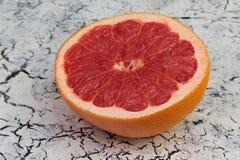 Половина свежего грейпфрута Стоковые Фото