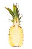 Половина свежего сочного ананаса Стоковое Изображение