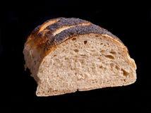 Половина хлебца хлеба Стоковая Фотография