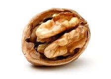 Половина часть грецкого ореха Стоковое Изображение RF