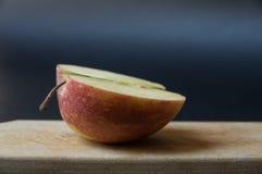 Половина яблока II Стоковое Изображение RF