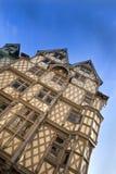половинная дом timbered Стоковое Изображение