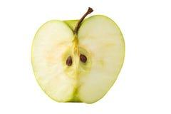 Половинное яблоко Стоковое Изображение