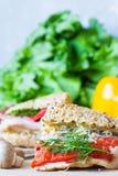 Половинные сандвичи Стоковые Изображения RF