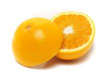Половинный апельсин стоковое фото rf