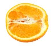 Половинный апельсин Стоковое Изображение