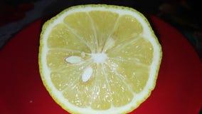 половинный лимон стоковое изображение rf