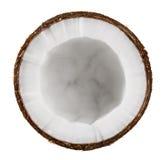 Половинный кокос Стоковое Фото