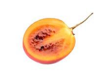 Половинный плодоовощ tamarillo Стоковые Фото