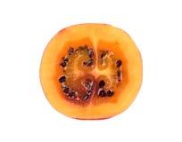 Половинный плодоовощ tamarillo Стоковое фото RF
