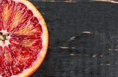 Половинный сицилийский апельсин Стоковое Фото