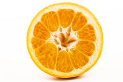 Половинный сладкий апельсин Стоковое Изображение RF