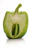 Половинный capsicum Стоковое фото RF