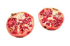 половинный pomegranate Стоковое Изображение