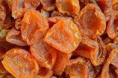 Половины абрикоса, варить высушенных абрикосов Стоковая Фотография