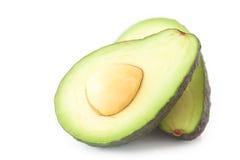 2 половины авокадоа Стоковые Фото