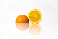 Половины апельсинов Стоковые Изображения RF
