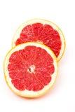 половины грейпфрута Стоковые Изображения