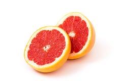 половины грейпфрута стоковая фотография