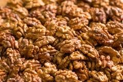 Половины грецкого ореха Стоковые Изображения RF