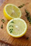Половины лимона Стоковое Изображение