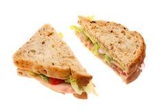 2 половины сандвича Стоковые Изображения RF