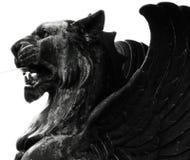 подогнали львев, котор Стоковые Изображения RF