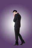 положение бизнесмена Стоковое Изображение RF
