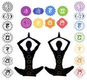 Положение йоги Стоковое Изображение RF
