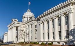 положение капитолия здания Алабамы Стоковые Изображения