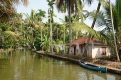 Положение Кералы в Индии стоковое изображение