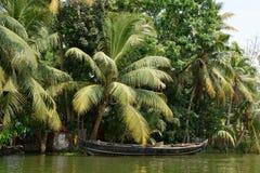 Положение Кералы в Индии стоковое фото rf