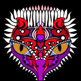 Положение о намерениях Красочное изображение вектора в стиле абстрактного искусства Стоковые Фото