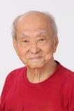 Положение персоны деда старшее стоковая фотография