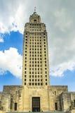 положение румян Луизианы капитолия жезла Стоковое Фото