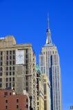 положение США york manhattan империи здания новое Стоковые Фото