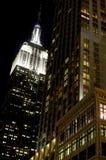 положение США york manhattan империи здания новое Стоковая Фотография