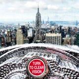 положение США york manhattan империи здания новое Стоковые Фотографии RF
